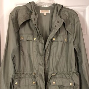 MICHAEL KORS ARMY GREEN JACKET